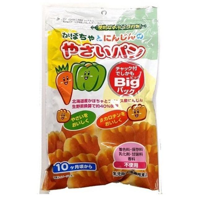 カネ増製菓 かぼちゃとにんじんのやさいパン (88g)
