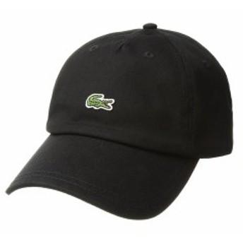 ラコステ メンズ 帽子 アクセサリー 'Small Croc' Cap Black