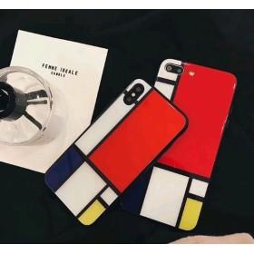 カラフル iPhoneケース 送料無料 iPhone6/6s iPhone6plus/6splus iPhone7/8 iPhone7plus/8plus iPhoneX iPhoneXS
