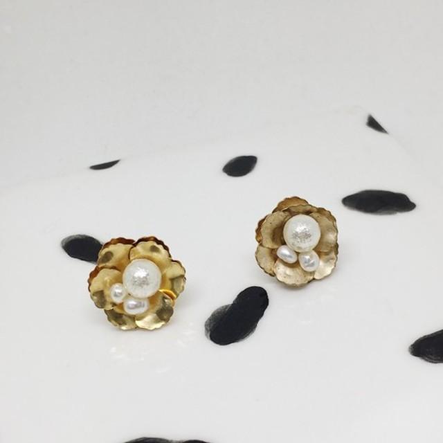 [SUZURAN] mimiのお花.パール