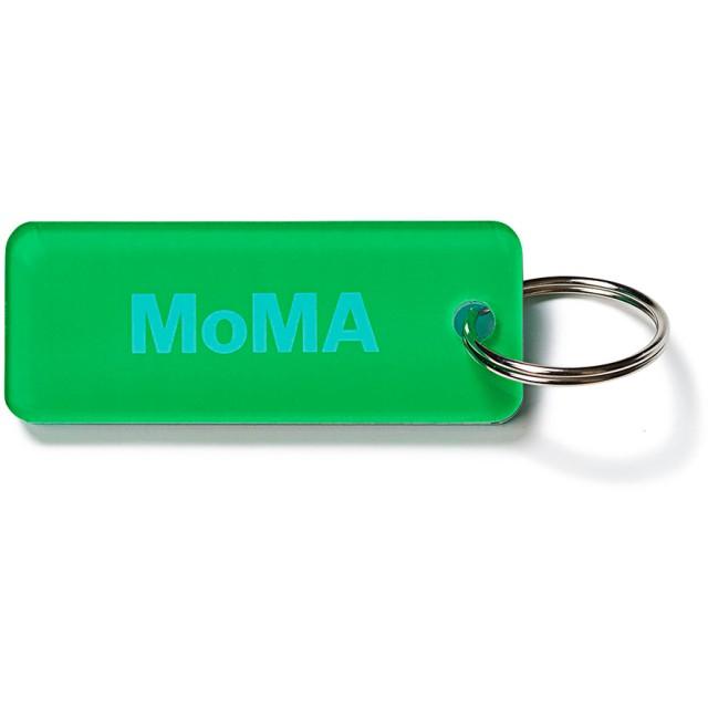 MoMA デュオカラー キーリング グリーン