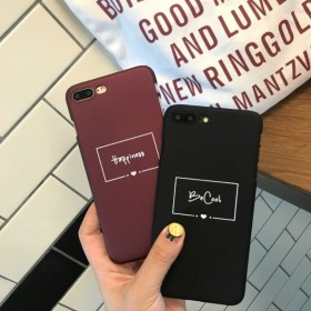 ロゴ Happiness Be cool 英字 シンプル iPhone ケース 送料無料 iPhone6/6s iPhone6plus/6splus iPhone7 iPhone7plus