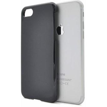 iPhone7 iPhone8 ハード ケース カバー pc iPhone アイフォン 7 8 [ ブラック 黒 くろ black ] 送料無料