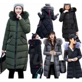 2018新型 ダウンコート アウター ダウンコート 防寒 韓国ファッションンに仕立てた ダウンジャケット ロングタイプ 軽量 アウター ロング 長め しっかり暖か 新作 冬 女性用 柔ら