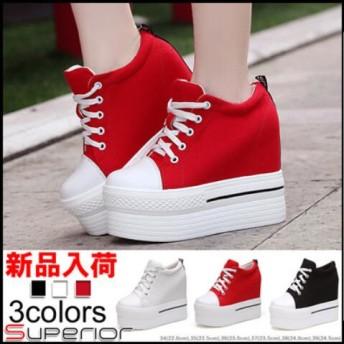 カジュアルシューズ人気スニーカー 韓国 ファッション 厚底スニーカー・ローファー/フラットシューズ厚底靴/女性靴/ランニング靴/レディース