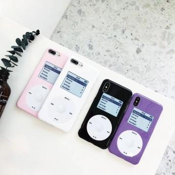 アイポッド風 4色 iPhoneケース 送料無料 iPhone6/6s iPhone6plus/6splus iPhone7/8 iPhone7plus/8plus iPhoneX iPhoneXS