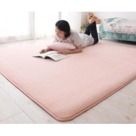 軽量 ラグ 絨毯 手洗い マット リビング シンプル コンパクト 気持ちいい ラグマット カーペット 床暖房対応 130×190cm じゅうたん