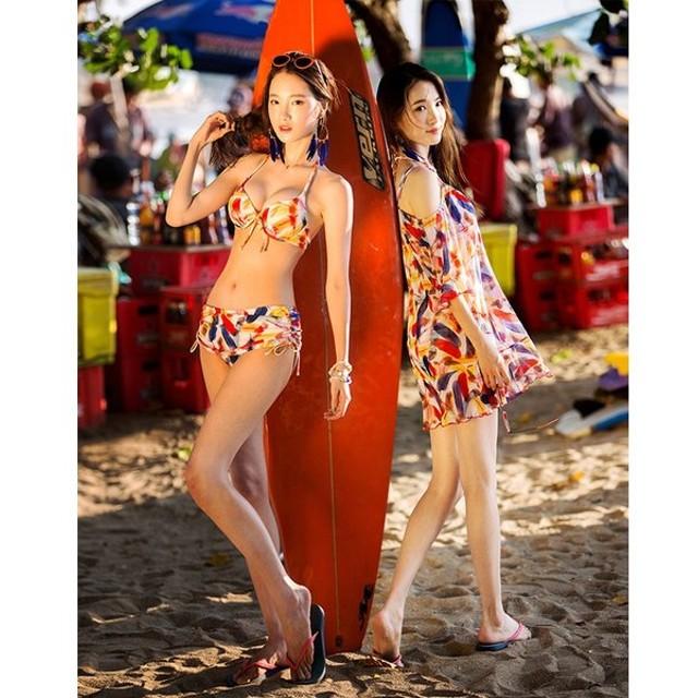 水着 レディース 体型カバー タンキニ ビキニ ショートパンツ 3点セット ママ水着 タンキニ水着 大きいサイズ 2017 通販 人気