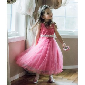3c3f1fe7341ac フォーマルドレス - Catherine Cottage 子供ドレス 大粒ビジューベルトチュールドレス(子供服 女の子