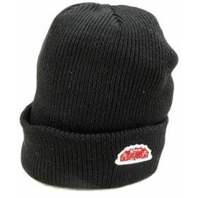 未使用品 ラウンドハウス ROUND HOUSE 帽子 ニットキャップ ビーニー 黒 ブラック /AKK30 メンズ