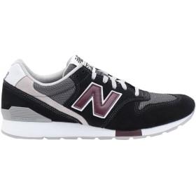 《期間限定 セール開催中》NEW BALANCE メンズ スニーカー&テニスシューズ(ローカット) ブラック 7 革 / 紡績繊維 996