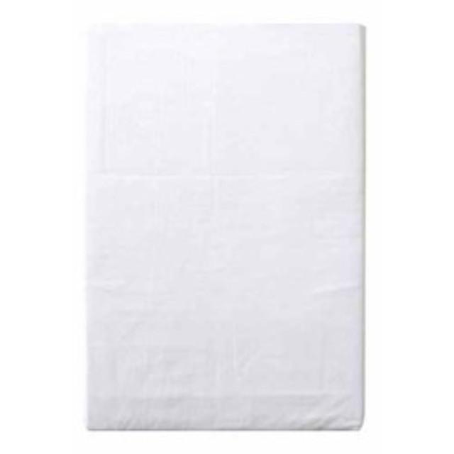 綿100% 敷布団カバー ホワイト[CT1311-06](シングルロング)