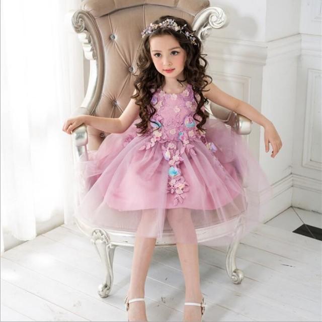 6d41c592bb8cf 子供ドレス starf 子供パーティドレス 女の子 starf  子供服ドレス starf ...