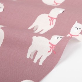 Alpaca - alpaca デザインファブリック★1m単位でカット販売