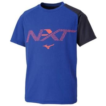 MIZUNO SHOP [ミズノ公式オンラインショップ] N-XT Tシャツ[ジュニア] 25 リフレックスブルー 32JA9425