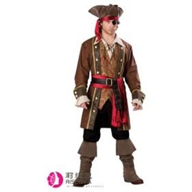 送料無料コスプレ 衣装 コスチューム ハロウィン クリスマス カリビアンはカリビアンとハロウィン服装コスプレ、ジャック船長の制服