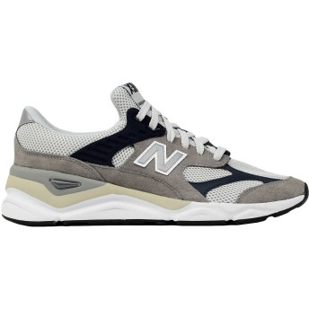 《セール開催中》NEW BALANCE メンズ スニーカー&テニスシューズ(ローカット) グレー 7 革 / 紡績繊維 X90