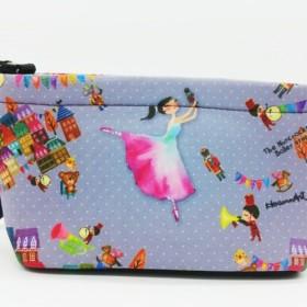 くるみ割り人形ジャンピングバレエフィギュア化粧品袋