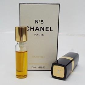 シャネル 香水 NO.5 パルファム スプレータイプ 7.5ml 中古 CHANEL ナンバー5|女性用 レディース フレグランス パフューム P SP 箱付き