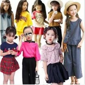 6dd487c503851 夏 韓国子供服女の子-男の子合集100CM~160CM セットアップ-韓国ファッション子供