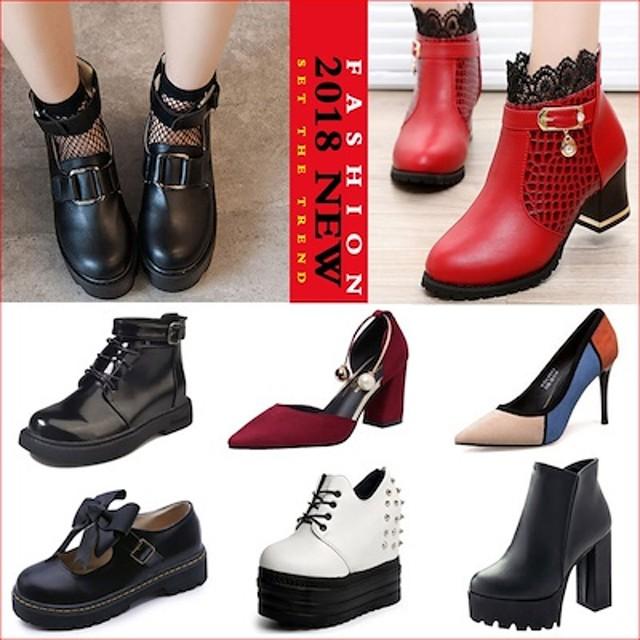 韓国ショート ファッション/ カジュアル//美脚/レディース/パンプス/ビーチシューズ/スニーカー ル/ウエッジヒール/厚底サンダル/おしゃれシューズ/可愛くて独特なデザイ学院風靴ブーツ