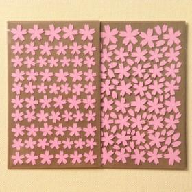 桜シール【ミニサイズ】*2枚入*
