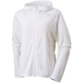MIZUNO SHOP [ミズノ公式オンラインショップ] ソーラーカットジップTシャツ[レディース] 01 ホワイト 32MA9341