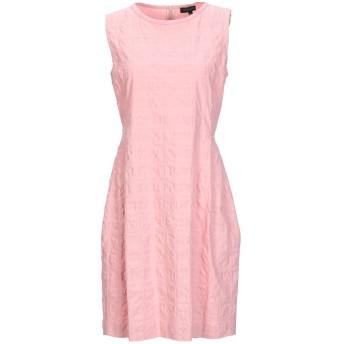 《セール開催中》ANTONELLI レディース ミニワンピース&ドレス ピンク 38 コットン 98% / ポリウレタン 2%