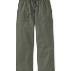 サンウォッシュ・キャンバス・クロップド・パンツ/Sunwashed Canvas Cropped Pants