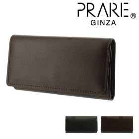 442471ab99ab プレリー ギンザ キーケース カードケース ボックスカーフ メンズ NP56595 日本製 PRAIRIE GINZA   牛革