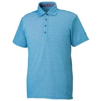 MIZUNO SHOP [ミズノ公式オンラインショップ] ポロシャツ[メンズ] 23 ブルージェイ杢 32MA9083