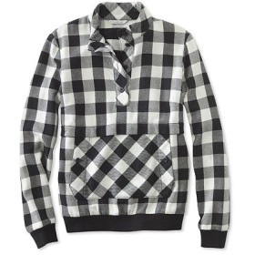 シグネチャー・ポップオーバー・フランネル・シャツ、チェック/Signature Popover Flannel Shirt Check