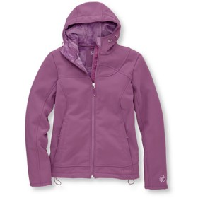 ジャパン・フィット マウンテン・ローレル・フード・ソフト・シェル・ジャケット/Japan Fit Mountain Laurel Hooded Soft-Shell Jacket
