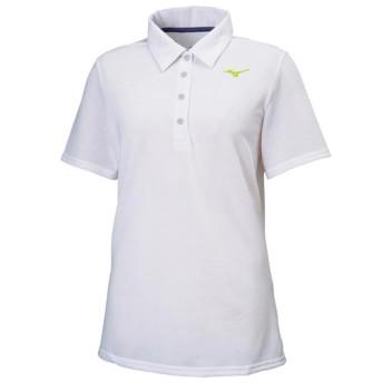 MIZUNO SHOP [ミズノ公式オンラインショップ] ポロシャツ[レディース] 01 ホワイト 32MA9380