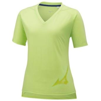 MIZUNO SHOP [ミズノ公式オンラインショップ] ロゴTシャツ[レディース] 32 シャープグリーン 32MA9312