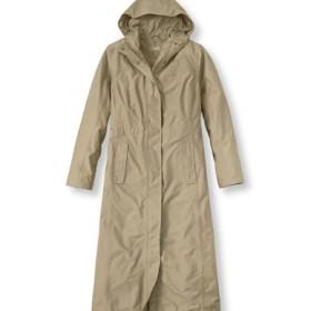 H2OFF DXレインウエア・メッシュの裏地付き・ロング・コート/H2OFF DX Rainwear Mesh-Lined Long Coat