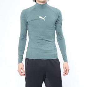 プーマ PUMA メンズ フィットネス 長袖コンプレッションインナー テック ライト LSモックネック ヘザー Tシャツ 517543