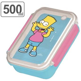 お弁当箱 シンプソンズ 500ml ランチボックス 1段 キャラクター ( 弁当箱 一段 女子 )
