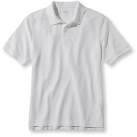 プレミアム・ダブル・エル・ポロシャツ、半袖/Premium Double L Polo Shirt Banded Short-Sleeve Without Pocket