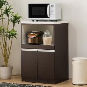 キッチンカウンター(レジューム 60TH DBR) ニトリ 『配送員設置』 『5年保証』