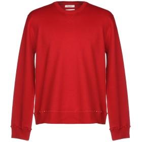 《9/20まで! 限定セール開催中》VALENTINO メンズ スウェットシャツ レッド S コットン 93% / ナイロン 7% / ポリウレタン