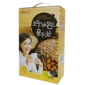 『ダムト』クルミ・アーモンド・ハトムギ茶|ユルム茶(18gX50包入)[韓国お茶][健康茶][朝食][1食置き換え][健康飲料]