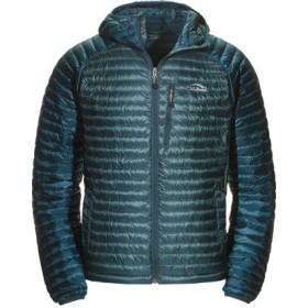 メンズ・ウルトラライト 850 ダウン・セーター、フード付き カラーブロック/Men's Ultralight 850 Down Sweater Hooded Colorblock
