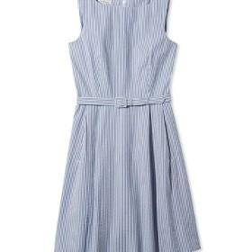 シグネチャー・シアサッカー・ドレス、スリーブレス/Signature Seersucker Dress Sleeveless