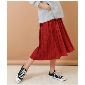 Alluge スプレープリーツスカート