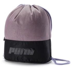 (セール)PUMA(プーマ)スポーツアクセサリー ナップサック AT ジムサック 07587101 レディース エルダーベリー/プーマ ブラック