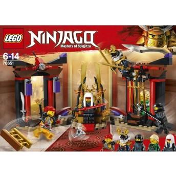 レゴ ニンジャゴー 70651 闇の玉座での決戦