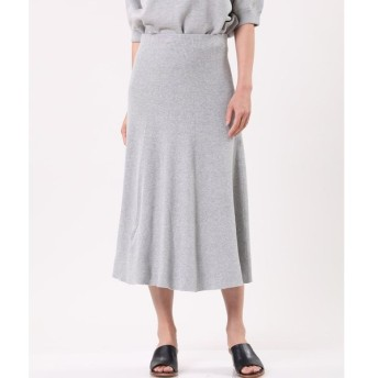 INED / 《セットアップ対応》フレアニットスカート