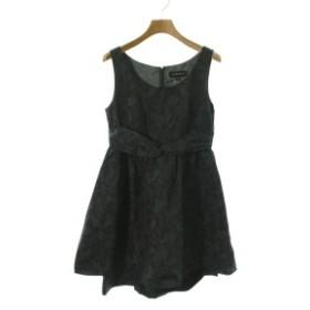 JILLSTUART  / ジルスチュアート レディース ワンピース 色:深緑x黒(花柄) サイズ:4(XL位)