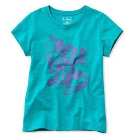 ガールズ・グラフィック・ティ、半袖/Girls' Graphic Tee Short-Sleeve